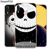 DREAMFOX L262 Nightmare Before Christmas Soft TPU Silicone  Case Cover For Huawei Honor 6A 6C 7X 9 10 P20 Lite Pro P Smart