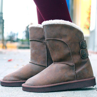 Snow Trot Bootie - Brown