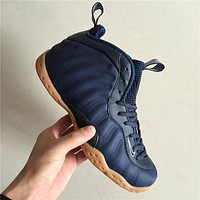 Air Foamposite One Navy Raw Sneaker Shoes