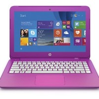 (Discontinued) HP Stream 13.3 Inch Laptop (Intel Celeron, 2 GB, 32 GB SSD, Orchid Magenta) Includes Office 365 Personal for One Year