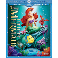 Disney The Little Mermaid 2-Disc Combo Pack with FREE Lithograph Set Offer - Pre-Order   Disney Store