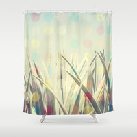 Dots Cactus Shower Curtain by Metron