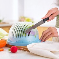 Salad Cutter Bowl Kitchen