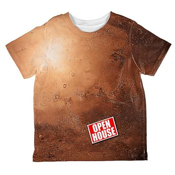 Mars Open House Funny All Over Toddler T Shirt
