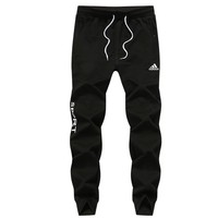 ADIDAS autumn new loose sports men's casual fashion sweatpants black