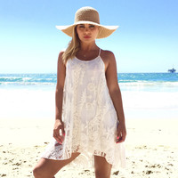 Cameo Shores Embroider Dress