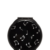 Music Note Mirror Compact