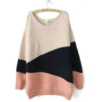Spell color long-sleeved sweater BBCEF from funkycatsterz