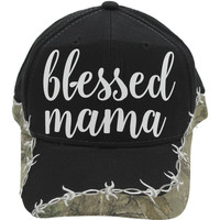 * Blessed Mama Real Tree Camo Hat
