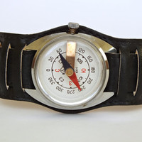 Vintage Wrist Compass made by Chistopol Watch Factory Molnija 70s