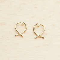 Wishbone Small Hoops