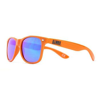 Illinois Throwback Sunglasses in Orange by Society43