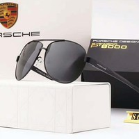 Porsche Couples with color film polarizing sunglasses H-A-SDYJ