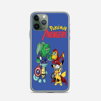 Pokemon Anime Cartoon All 8 Gym Badges 2 iPhone 11 Pro Case