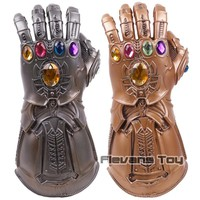 Marvel Avengers Infinity War Thanos Cosplay Glove Action Figure Toy with Light 1:1
