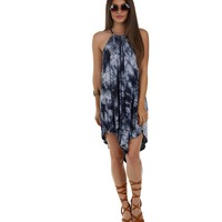 Navy Vibe With Me Tunic