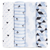 Mickey Mouse Muslin Swaddles Set by aden by aden + anais® | Disney Store