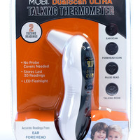 Ultra Pulse Talking Ear & Forehead Thermometer
