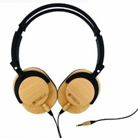 Tribeca Genuine Wood Performance Headphones, Maple