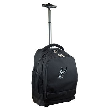 San Antonio Spurs Wheeled Premium Backpack