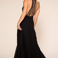 Candlelight Maxi Dress - Black
