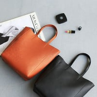 Cross Simple Design Bags One Shoulder Stylish Tote Bag [4915813060]