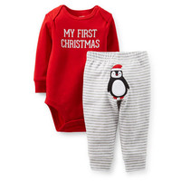 Christmas Bodysuit & Pant Set