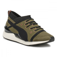 PUMA Womens Olive Night Pearl Trainers