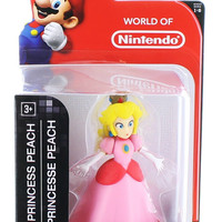 "World of Nintendo - Series 1-6 - Super Mario - Princess Peach 2.5"" (New)"