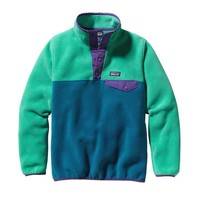 Patagonia Girls' Lightweight Synchilla® Snap-T® Pullover