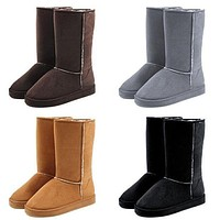 UGG Women Fashion Wool Snow Boots Calfskin Shoes-34