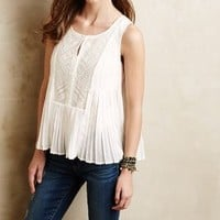 Embroidered Carissa Top by HD in Paris Ivory