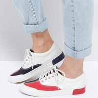 Tommy Jeans Classic Canvas Trainer at asos.com