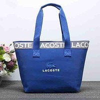 Lacoste Women Fashion Leather Satchel Shoulder Bag Handbag