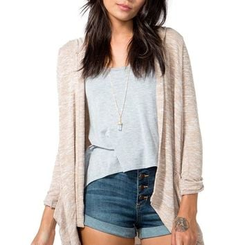 Natural Marl Cardigan