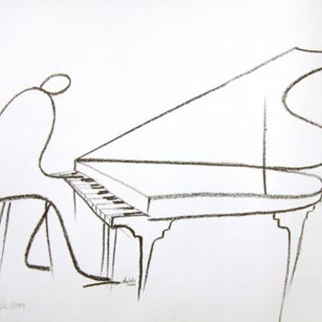 The Pianist (Offset Lithograph) *** $pecial Offer ***