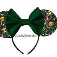 Superhero Mouse Ears by Geeky Little Crafts