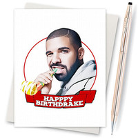 Drake Birthday Card  - Funny Husband Card - Birthday Card - Best Friend Gift - Drake Views - Drizzy - Birthday Gift For Her - Card Boyfriend