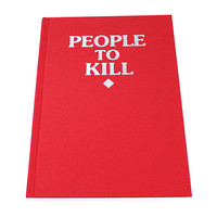 People To Kill Sketchbook (Limited Edition)