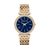 Michael Kors Darci Gold-Tone Stainless Steel Ladies Crystal Watch