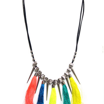 90s Tribal Goddess Necklace