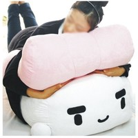 kawaii extra large bedding Salmon Sushi Cushion hit gift pillow 28""