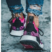adidas NMD R1 men and women Jogging shoes