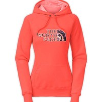 The North Face Avalon Crystal Pullover Hoodie for Women in Radiant Orange CN3Q-CA1