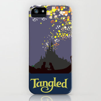 Tangled iPhone Case by TheWonderlander