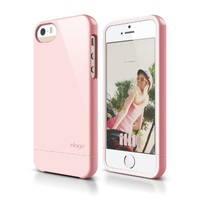 iPhone SE case, elago® [Glide][Lovely Pink] - [Mix and Match][Premium Armor][True Fit] - for iPhone SE/5/5S