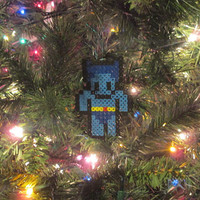 X-men Inspired Beast Bead Sprite Ornament, Magnet, or Wall Decor