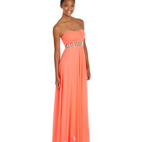Sequin Hearts Strapless Sweetheart Gown     | Dillard's Mobile
