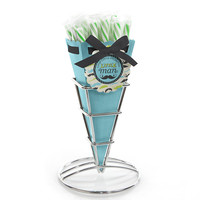 Baby Shower Candy Bouquets with Sticklettes - Dashing Little Man