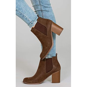 Phoebe Side Stretch Booties